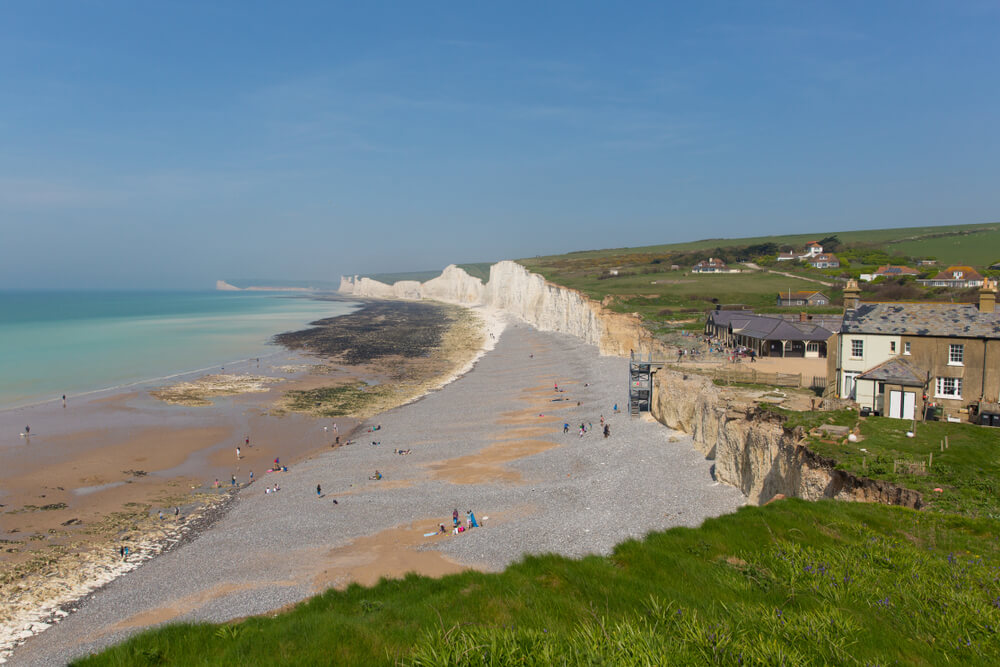 Birling Gap Beach UK